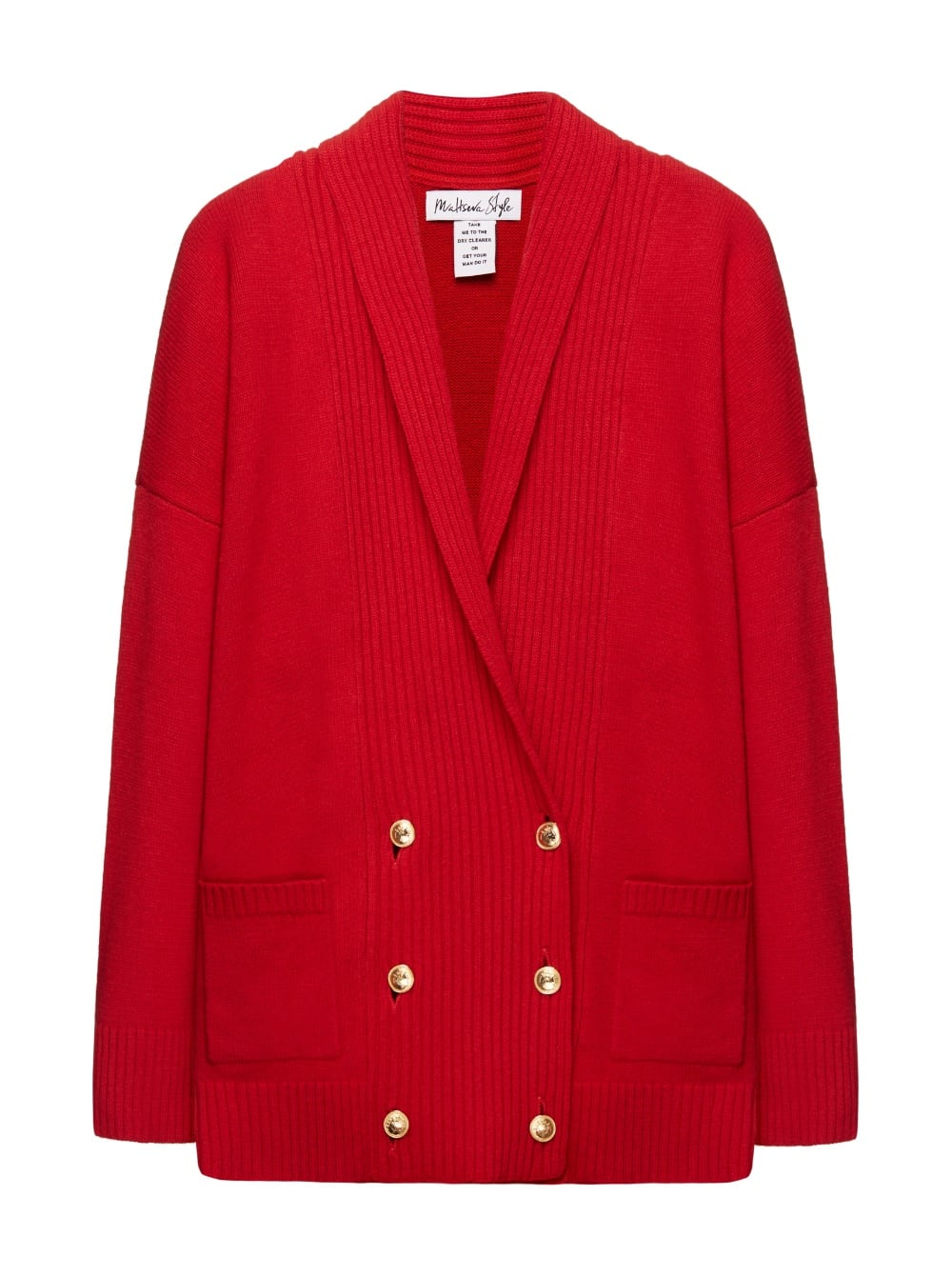 картинка CARDIGAN GEORGE V RED - Maltseva Style