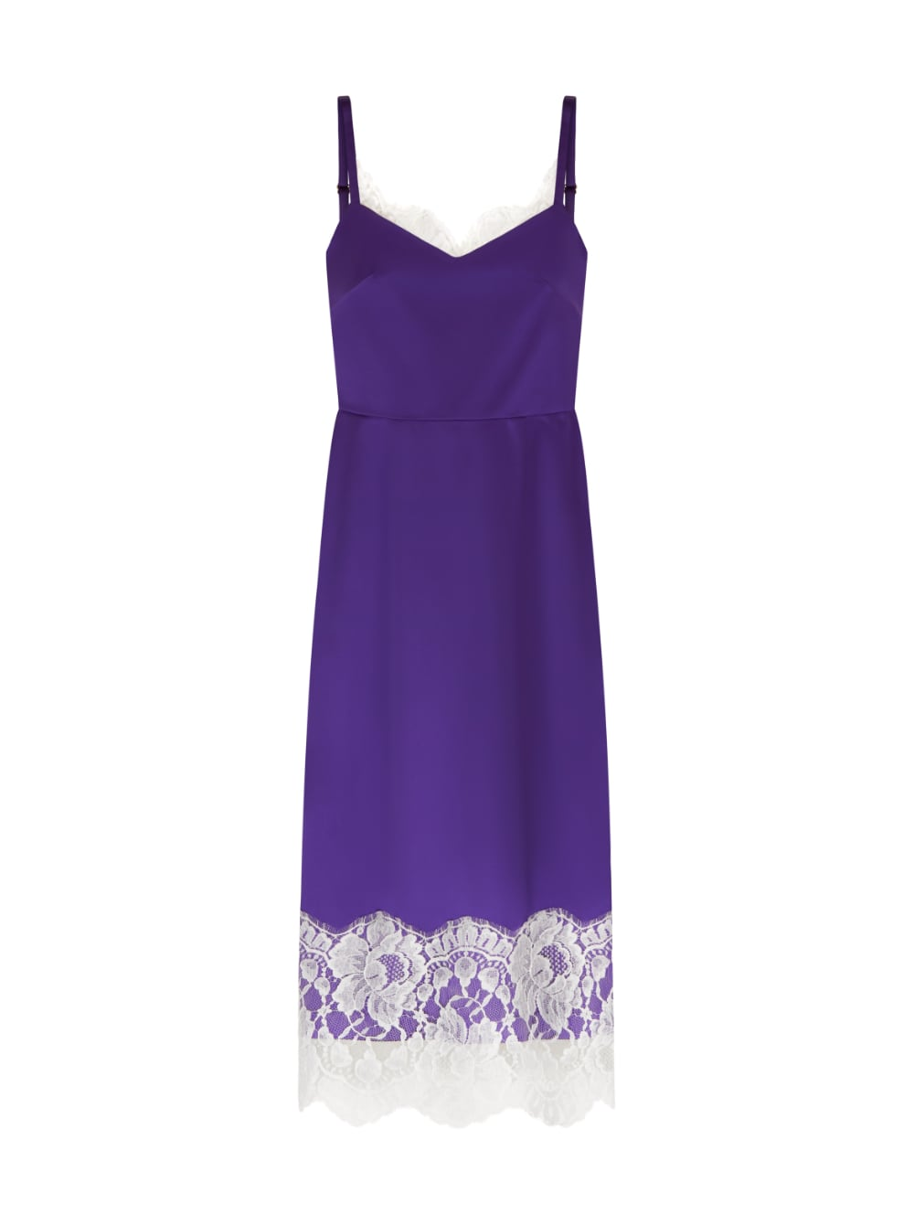 картинка SILK DRESS LONG VIOLET - Maltseva Style