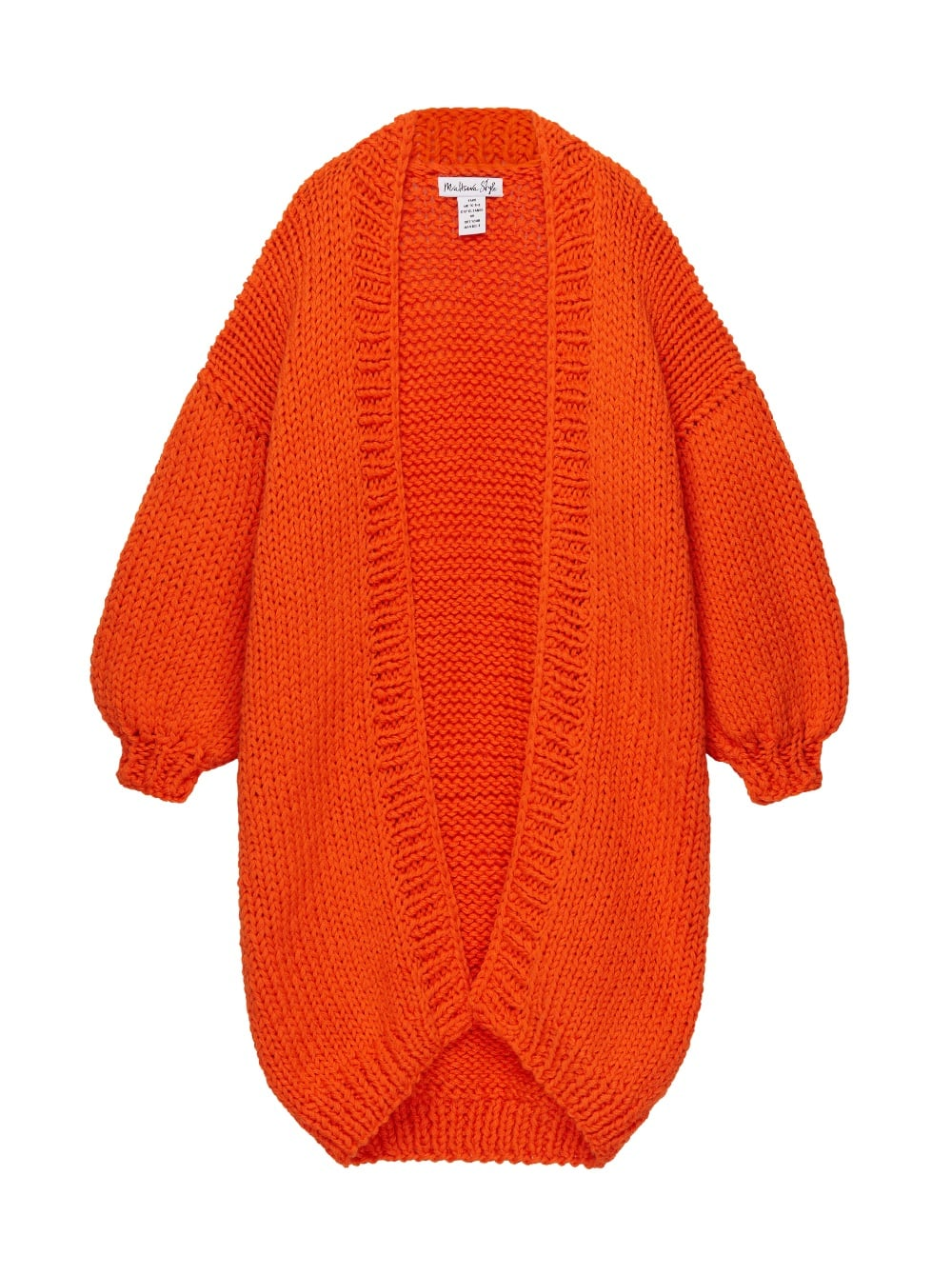 картинка The Cardi Orange - Maltseva Style