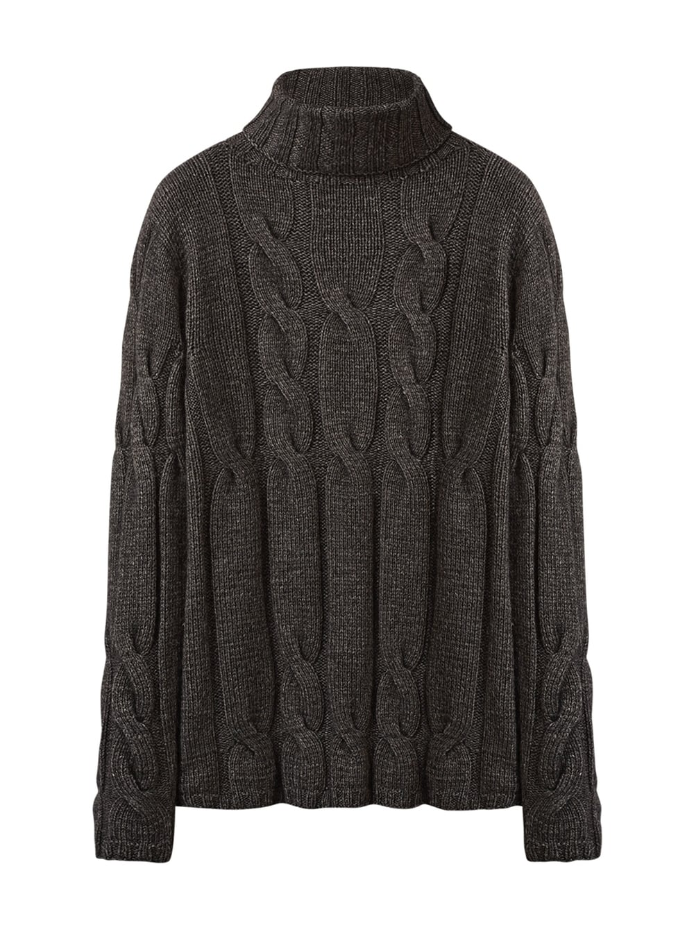 картинка FISHERMAN SWEATER GREY - Maltseva Style