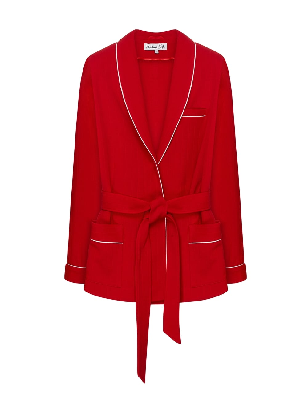 картинка TRAVEL JACKET RED - Maltseva Style