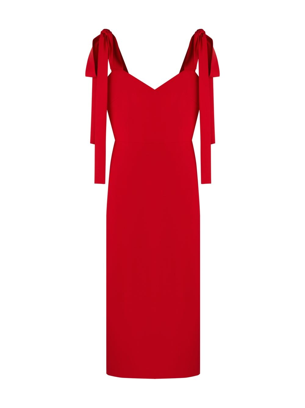 картинка BOW DRESS RED - Maltseva Style
