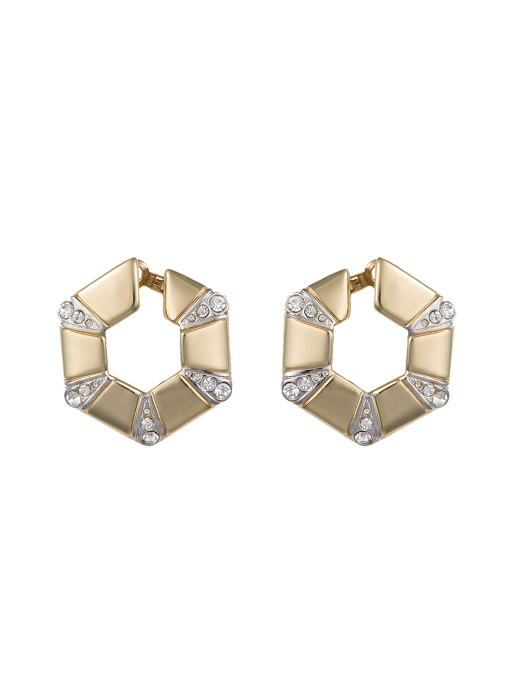 картинка GEOMETRIC EARRINGS - Maltseva Style