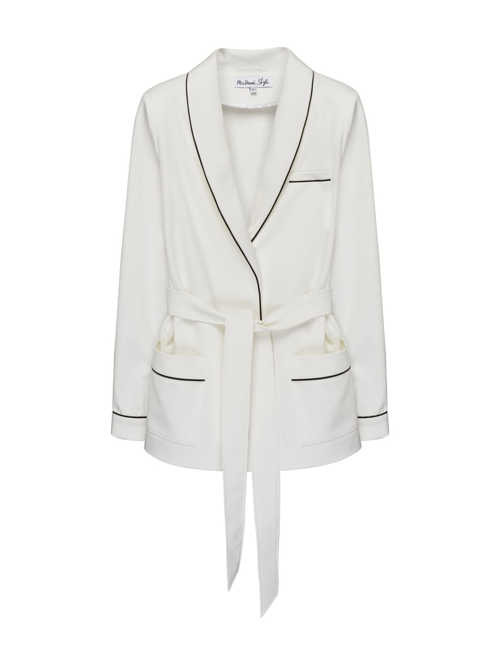 картинка TRAVEL JACKET WHITE - Maltseva Style