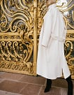 картинка Military Coat White - Maltseva Style
